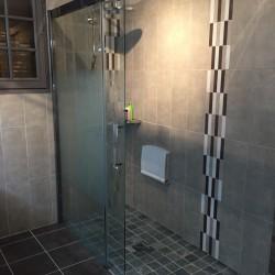 Espace douche à l'italienne